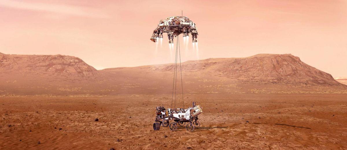 марс кислород